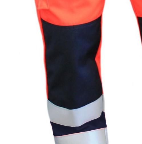 Nässesperre im Kniebereich für Einsatzhose